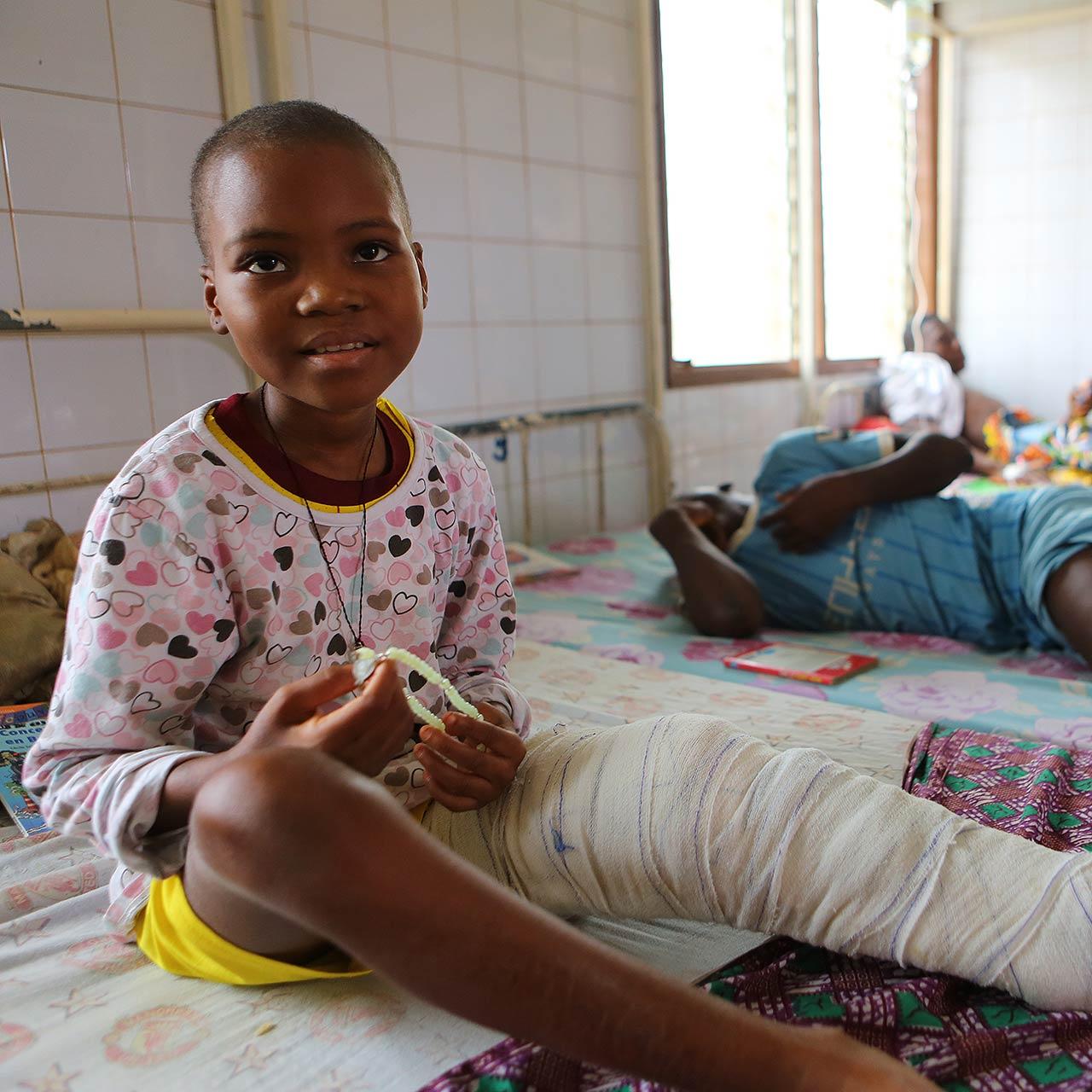 Centre de dépistage et de traitement de l'ulcère de Buruli